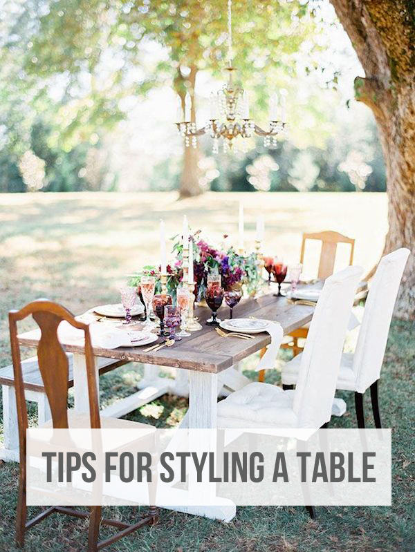 Tips for Styling a Table