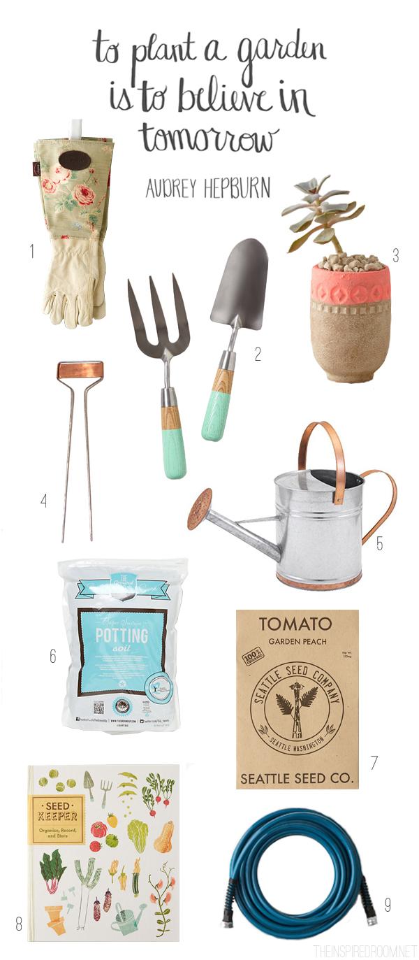 {Gather} Pretty Gardening Supplies & Tools