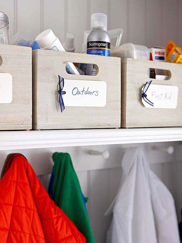 Closet Organization - A Place for Everything