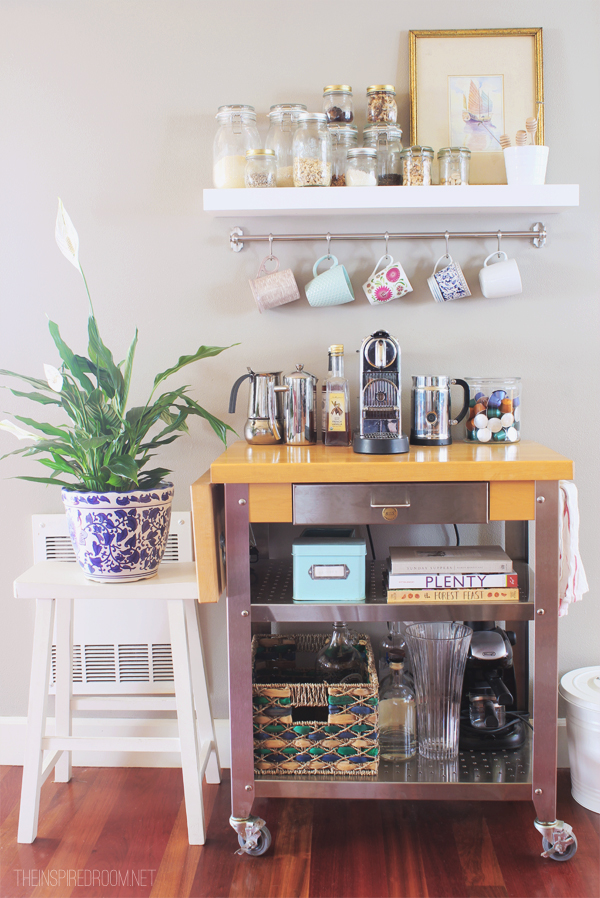 Townhouse Update {New Coffee Cart}
