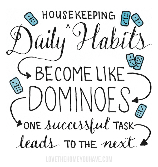 Why You Need to Make Your Bed {Domino Habits}