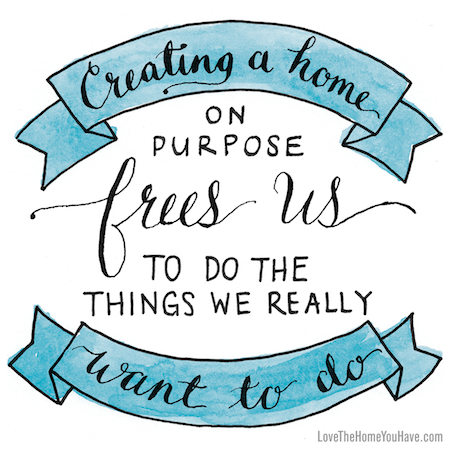 Inspiration from the new book Love the Home You Have - by Melissa Michaels of The Inspired Room