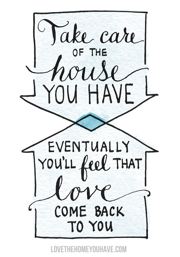Finding Joy at Home {When You're Not Feeling It}