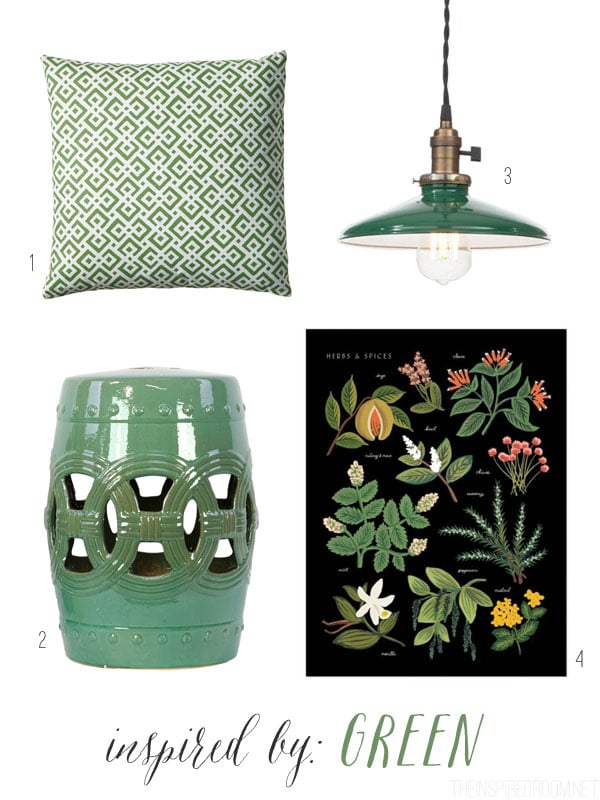 Inspired By Green - The Inspired Room