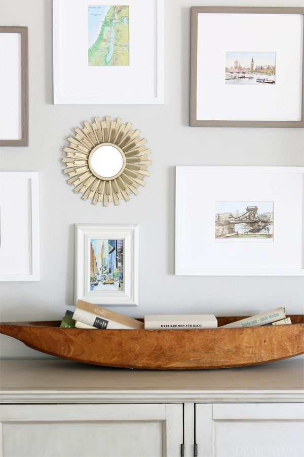 Decorating with an Antique Bowl