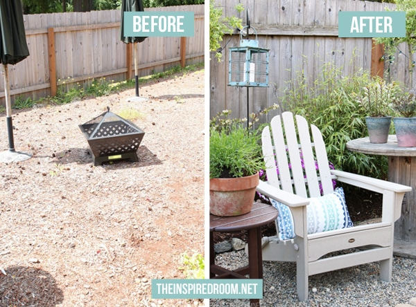 Creating a Charming Backyard Corner