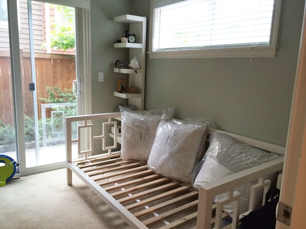 West Elm Window Daybed - Small Room