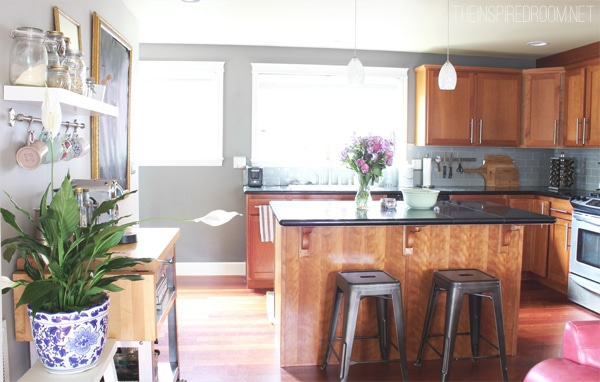 Kitchen - The Inspired Room blog Seattle Townhouse Update