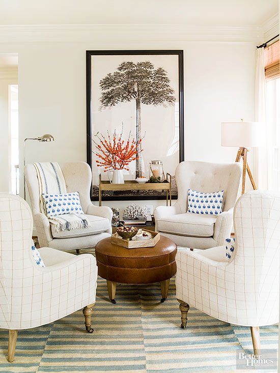 Apartment Interior With 4 Rooms: Four Ways To Create Cozier Conversation Areas