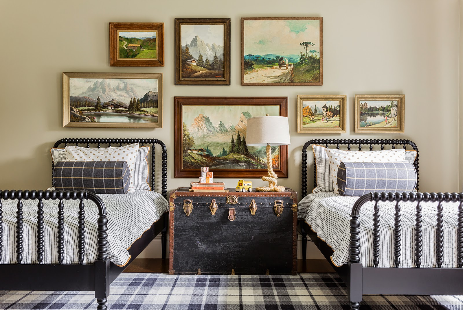 Inspired by cozy fall plaid buffalo check the for Decorar casa 60 m
