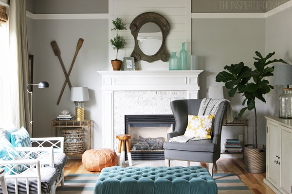 Summer House Tour - The Inspired Room Blog House Tour