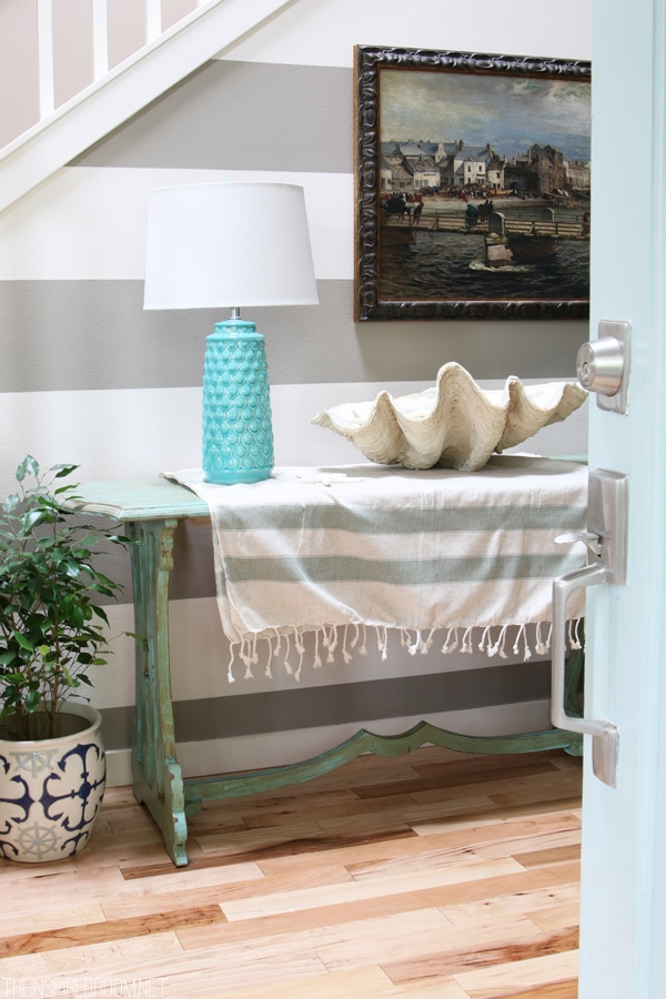 Summer House Tour - The Inspired Room Entry