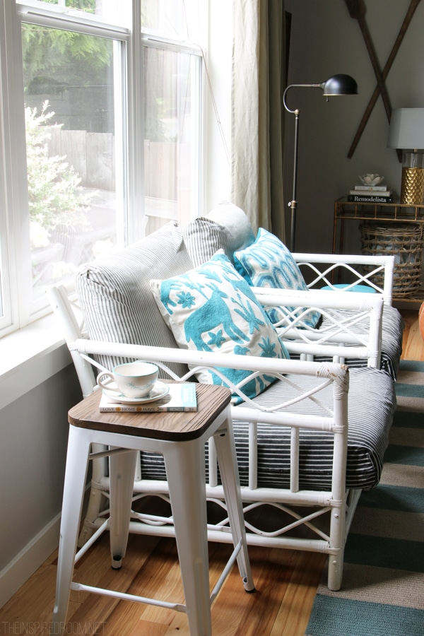 Summer House Tour - The Inspired Room Family Room Chairs