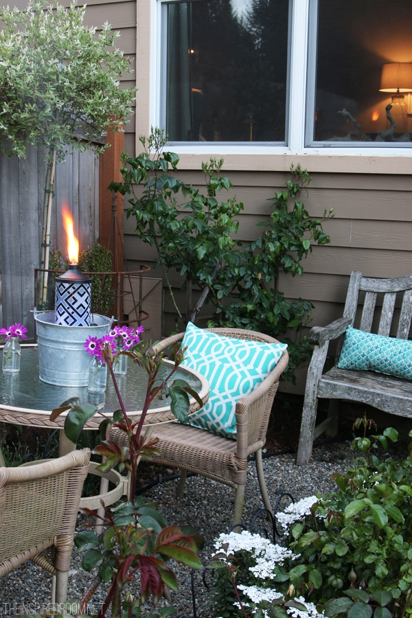Set The Mood Small Backyard Party For Two Amp Giveaway