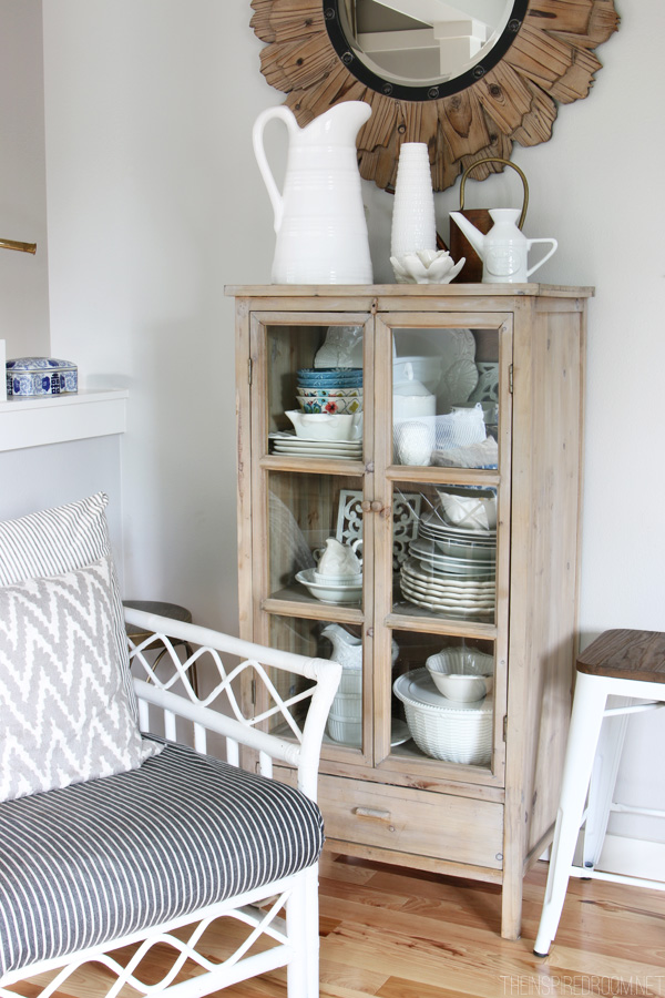 The Inspired Room - Dish Cabinet