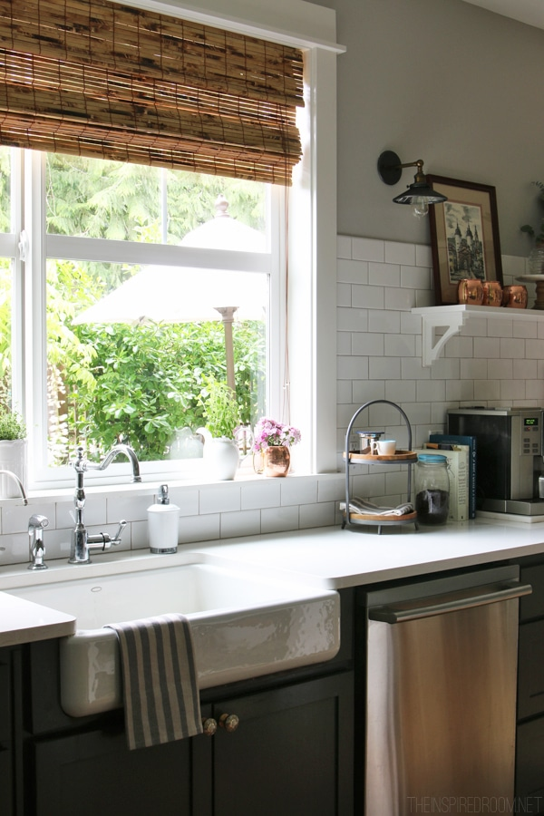 Small Enamel Kitchen Sink