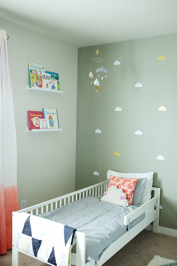 Toddler Girl's Room Reveal