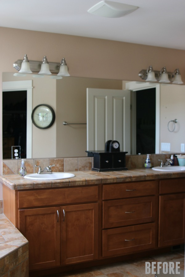 Master Bathroom is Ready for a Refresh!