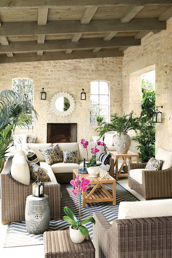 Four Outdoor Rooms {Takeaway Tips}
