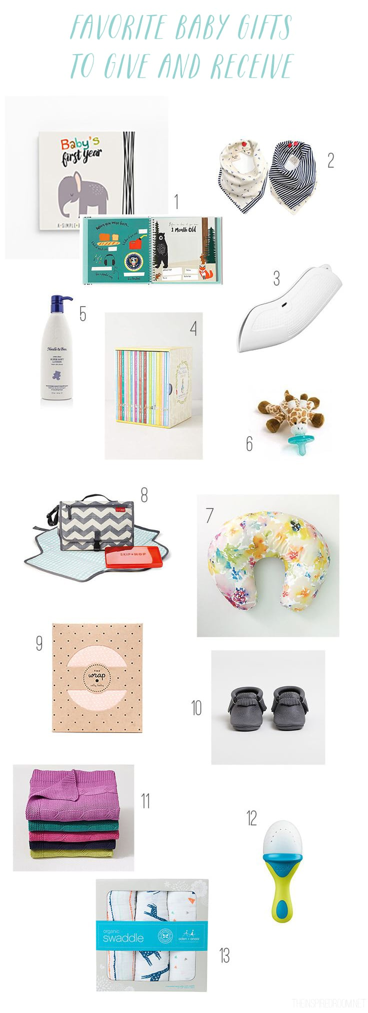 Favorite Baby Gifts to Give and Receive - The Inspired Room blog
