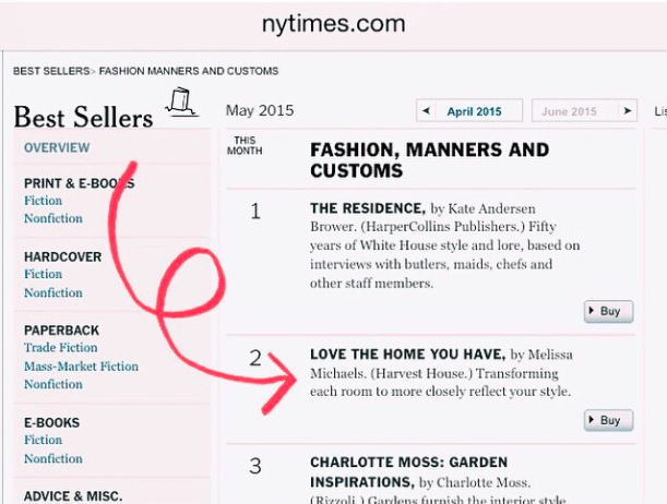 Love the Home You Have - New York Times Best Seller - Melissa Michaels - The Inspired Room