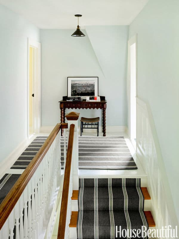 Nantucket stairways and painted clay pots on pinterest for Shaker style house