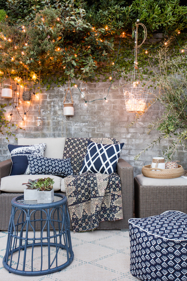 Target Patio Makeover by Emily Henderson