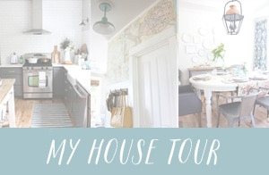 The Inspired Room House Tour - Blogger House Tour - Simple Decorating Ideas