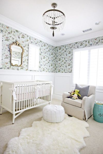 Baby Nursery - Design by Shea McGee - Photography by Brooke Palmer