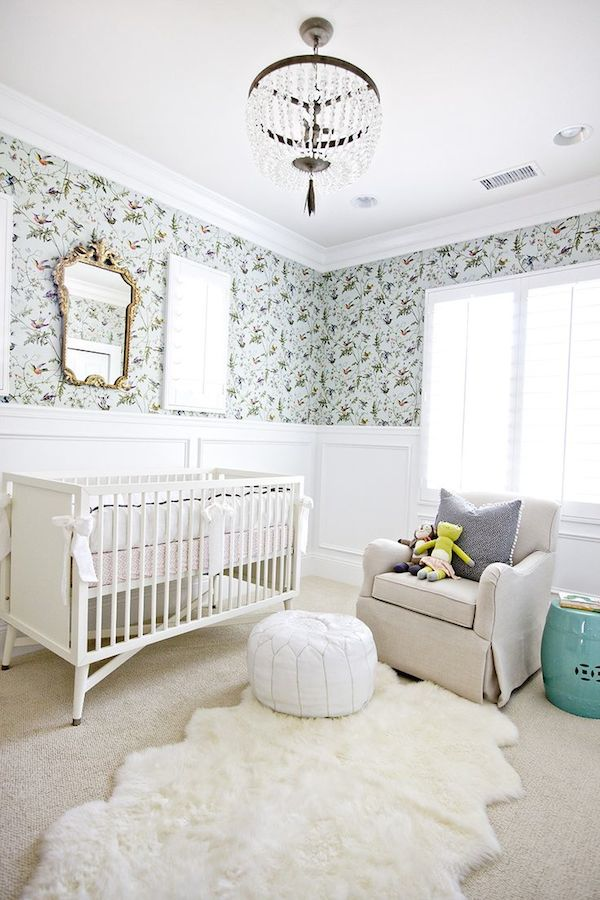 5 modern non themed baby nursery room designs the for Baby room design ideas