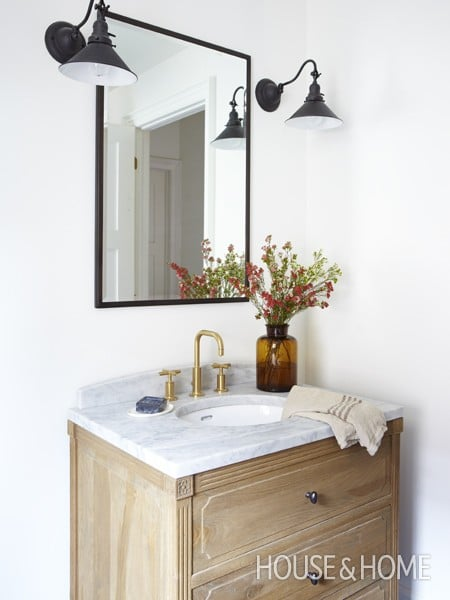 Bathroom House and Home - Designer Mandy Milks