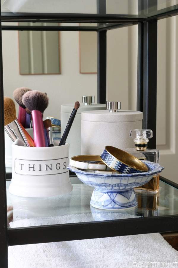 Bathroom Refresh - The Inspired Room blog