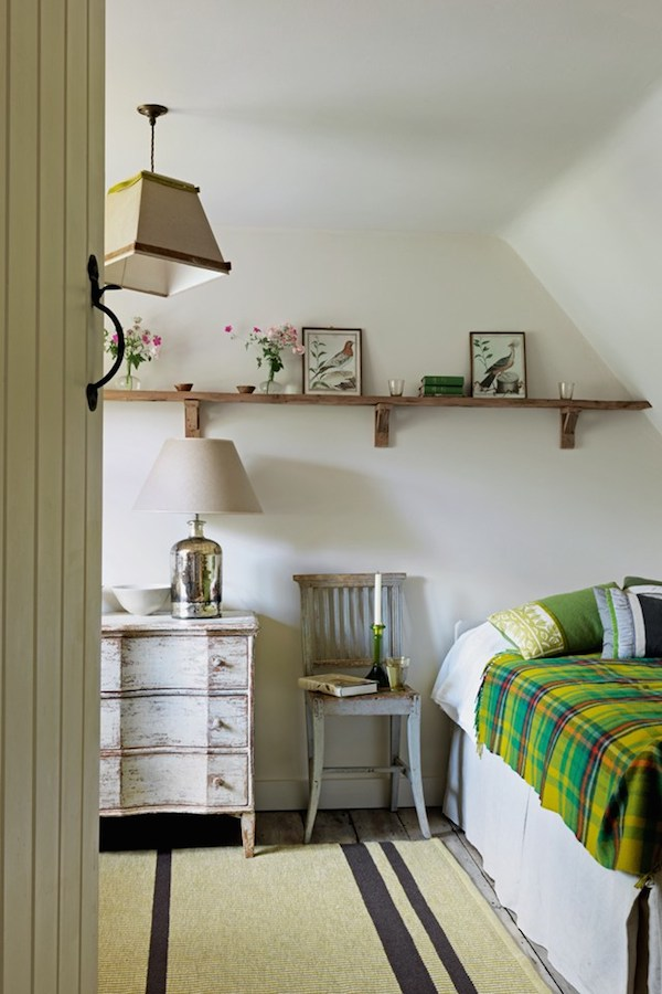 Cottage Bedroom - House Tour - Designed by Caroline Holdaway - Photography by Simon Brown
