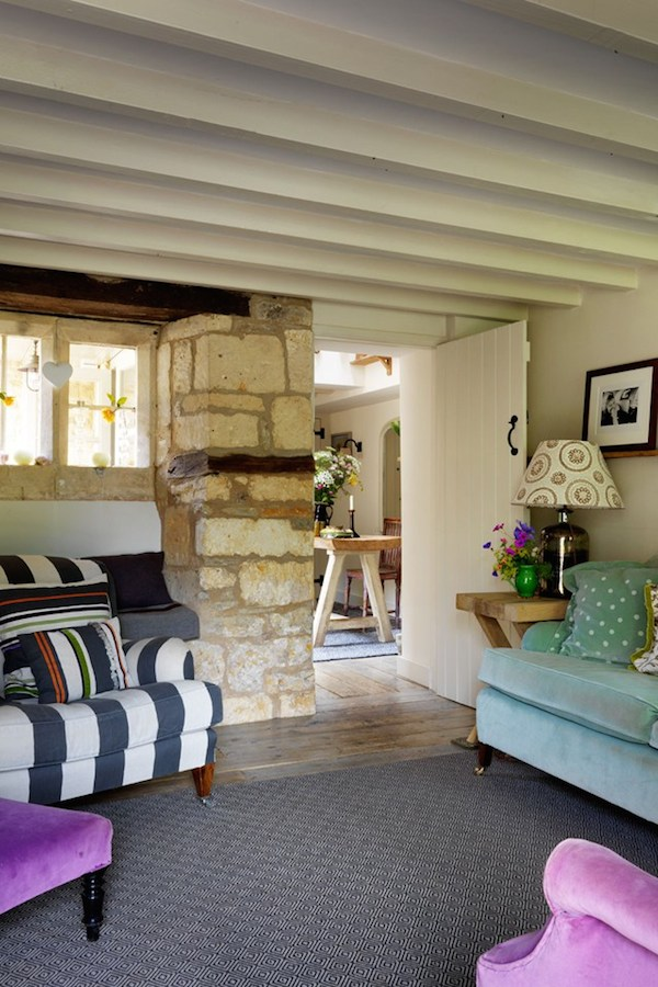 Cottage Tour - Designed by Caroline Holdaway - Photos by Simon Brown