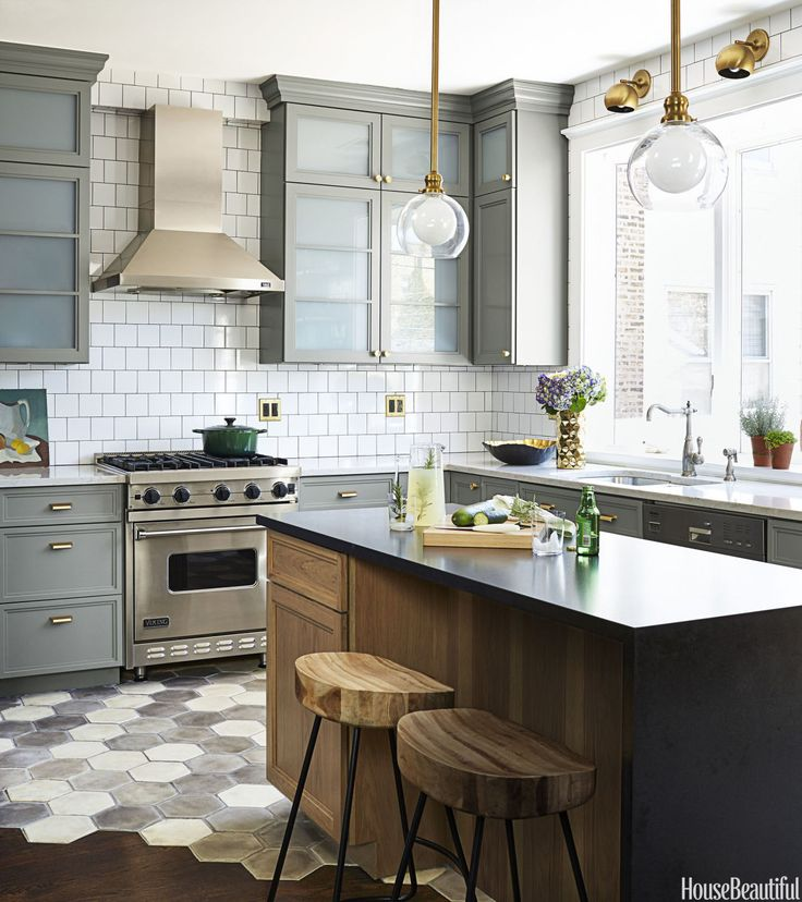 For The Love Of Kitchens Gray White Kitchen The Inspired Room