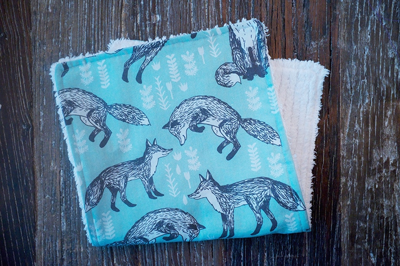 DIY Baby Gift Idea: Burp Cloth Tutorial