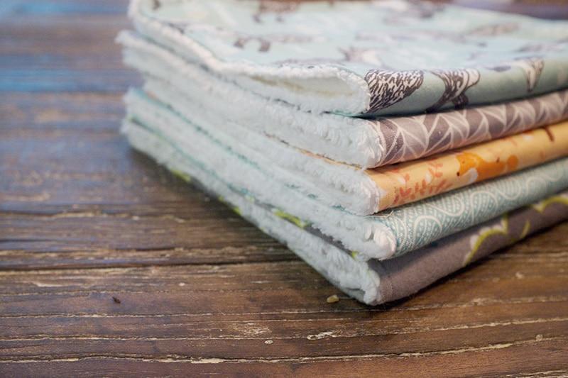 DIY Baby Gift Idea: Burp Cloth Tutorial