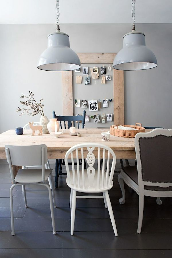 {Inspired By} Mismatched Dining Chairs - The Inspired Room