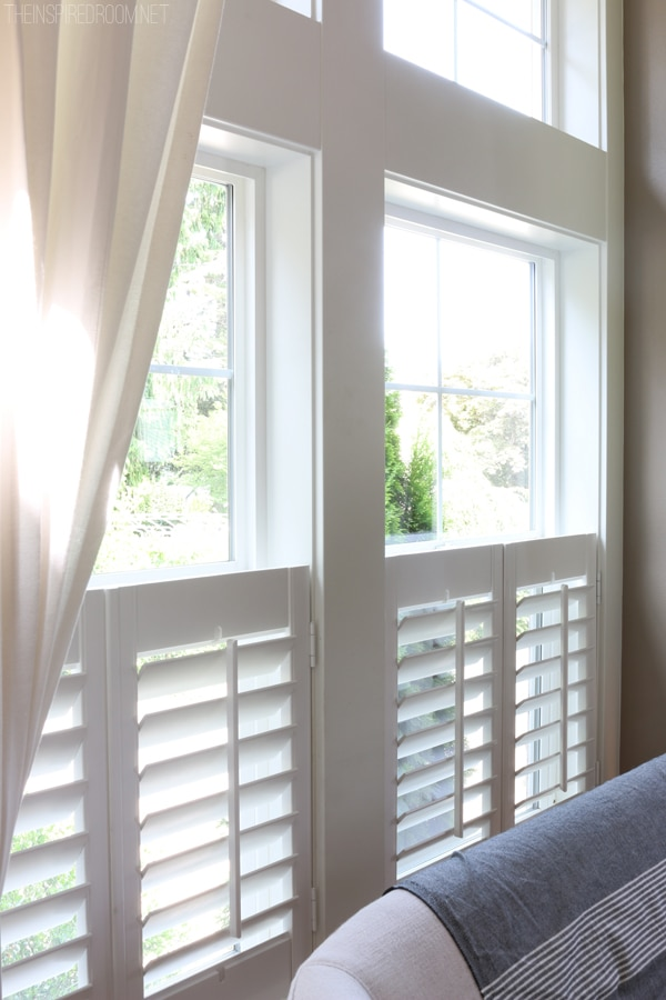 Plantation Shutters - The Inspired Room blog