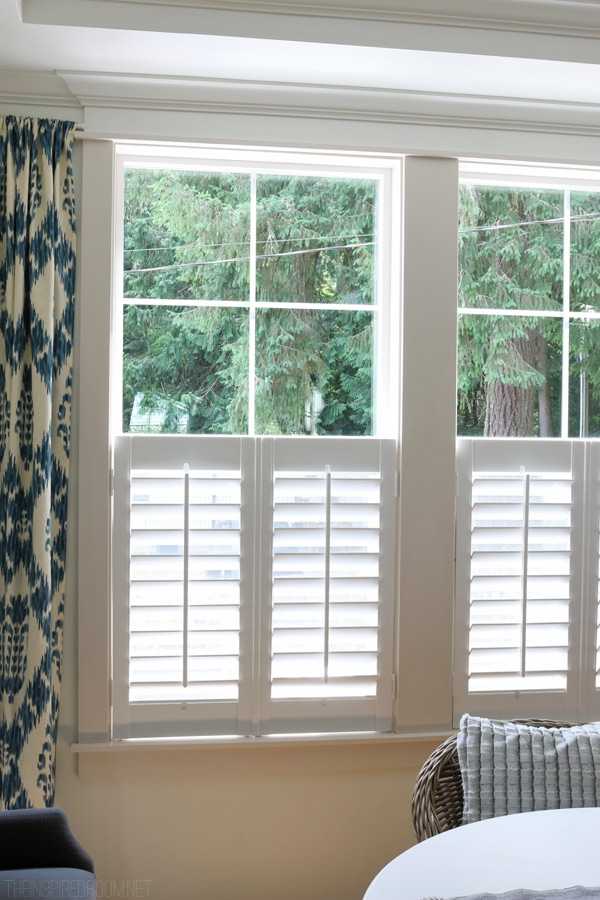 Plantation Shutters - Bali Blinds - The Inspired Room