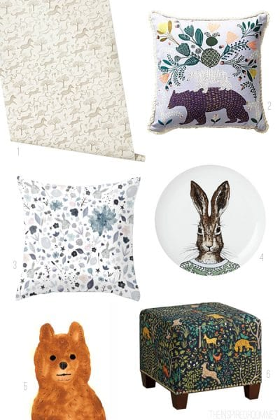 Quirky Animals for the Home - The Inspired Room blog