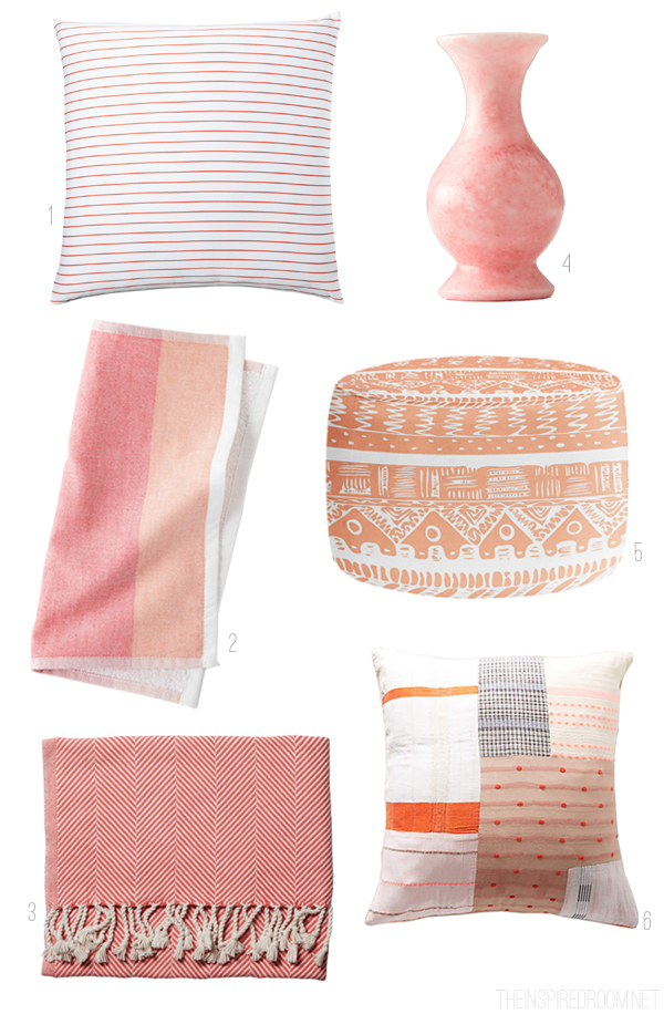 Color Inspiration: Coral Pink