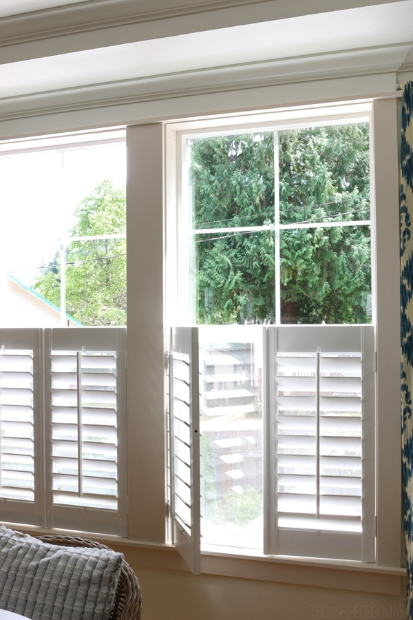 The Inspired Room Dining Room Plantation Shutters Bali Blinds