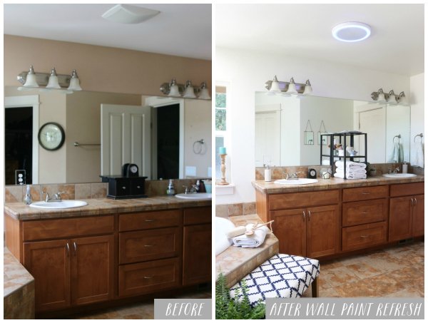 Master Bathroom: A Simple Refresh {update}