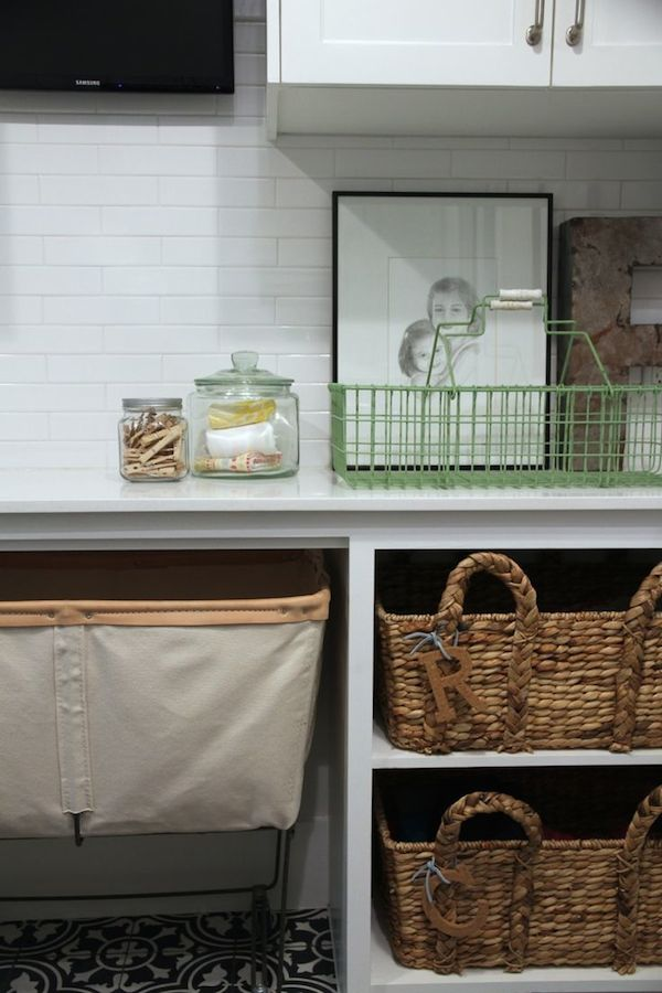 Laundry Room Organization - Brown Eyed Fox