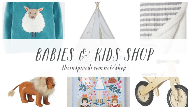 Babies and Kids Shop - The Inspired Room