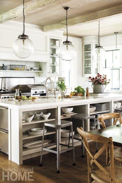 Farmhouse Kitchen New England Home Magazine 400x600 Jpg