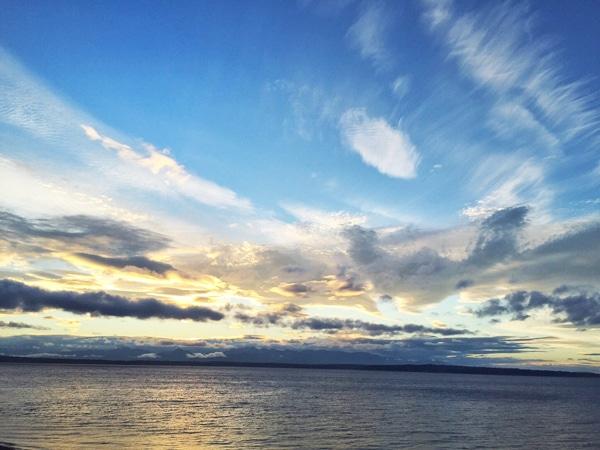 Pretty Sky in Seattle
