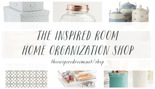 The Inspired Room Home Organization Shop