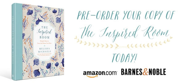 The Inspired Room {Book Cover Reveal and Behind the Scenes}